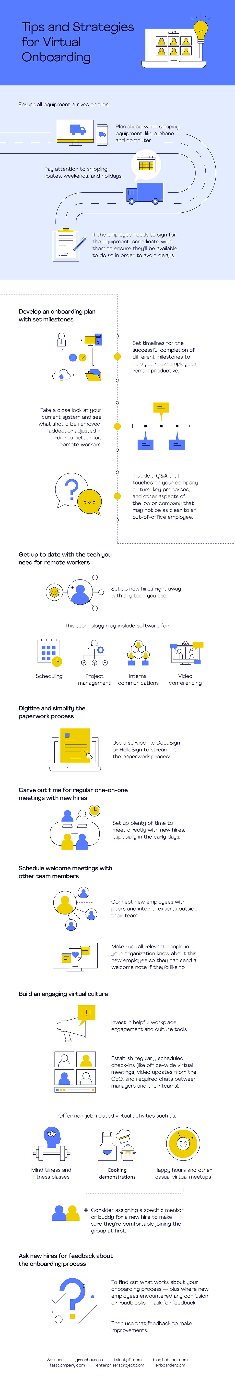 Tips and Strategies for Virtual Onboarding